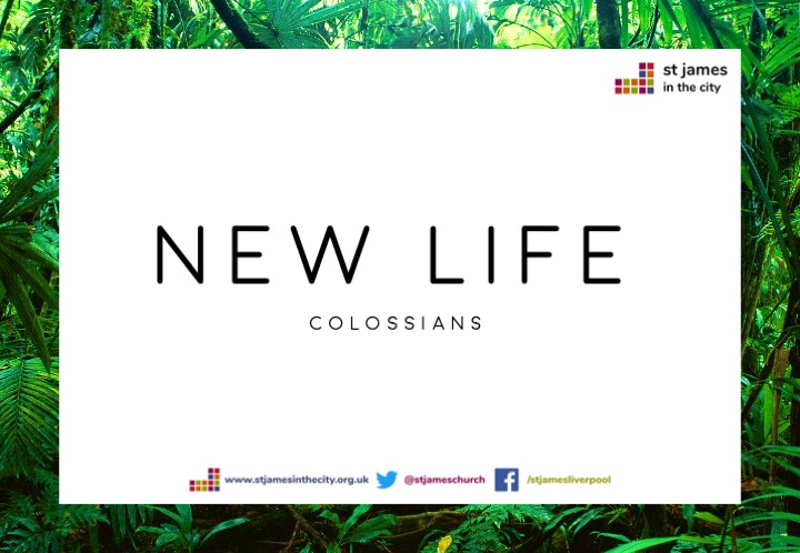 NEW LIFE - COLOSSIANS